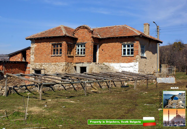 Rural House in Dripchevo, Bulgaria – Includes 1300 m2 regulated land
