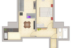 1 Bed B