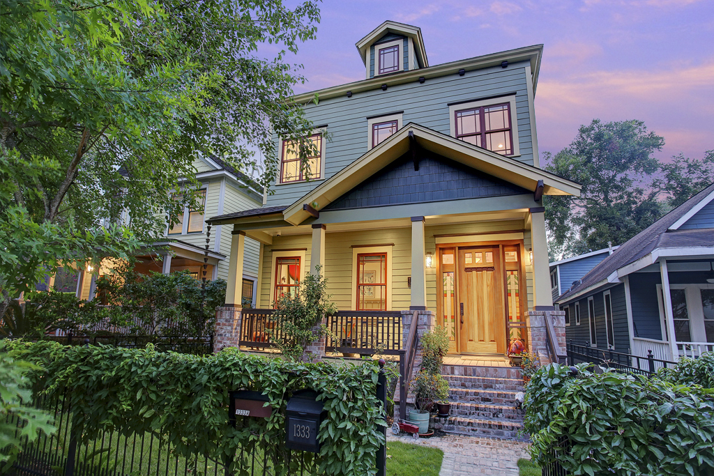 Exquisite Custom Craftsman w/ Income Producing Garage Apartment
