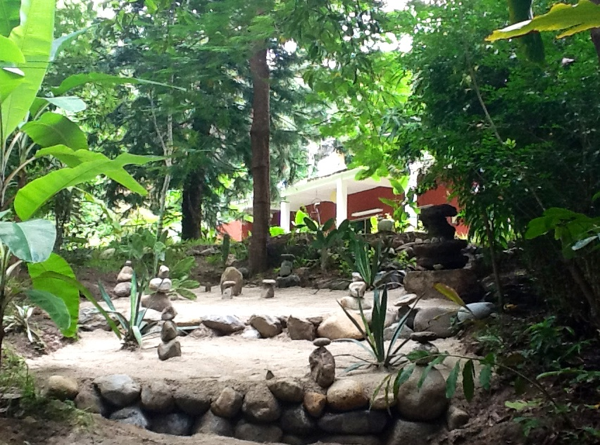 House on 11 hectares in 500 hectare retreat center