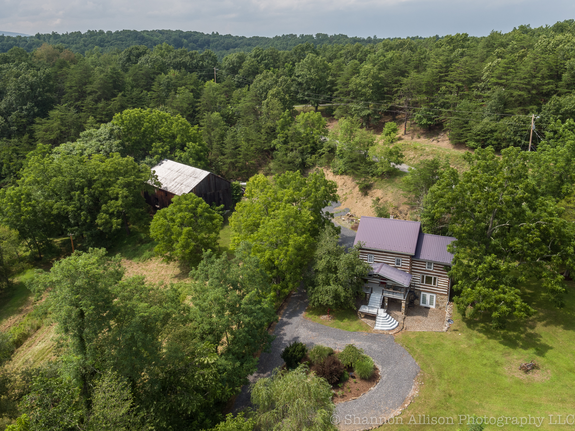 57 BTC – Log Home at Raystown Lake / 7.5ac (Central PA)