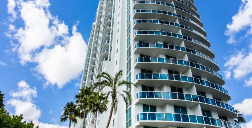 Highrise in Hallandale Beach, FL
