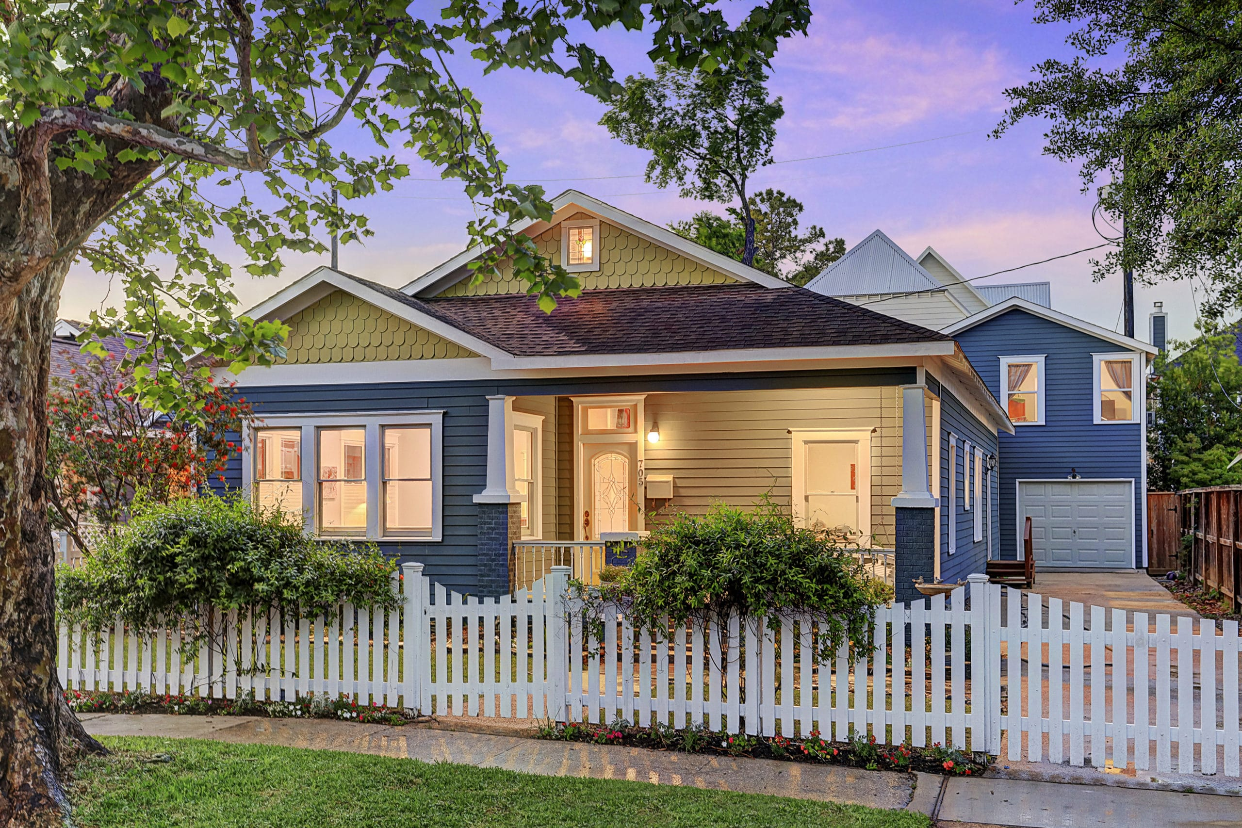 Heights Classic Craftsman, Remodeled with Garage Apartment