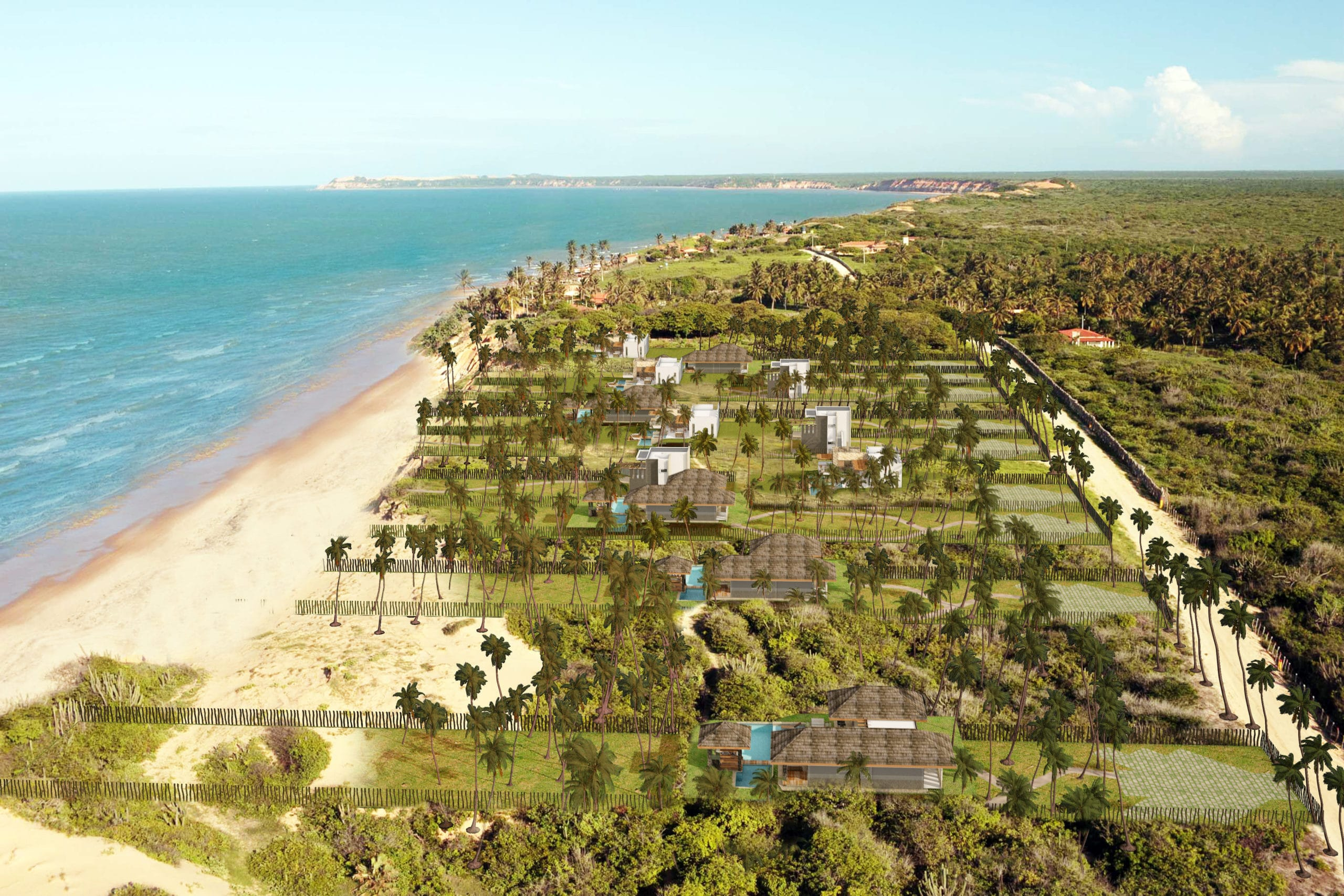 Beachfront Lots in Brazil
