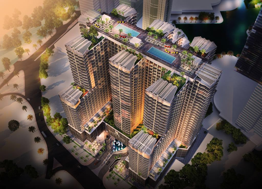 Studios, 1 / 2 / 3 Bedroom Apartments Starting From 113,700 USD or Equivalent in BTC