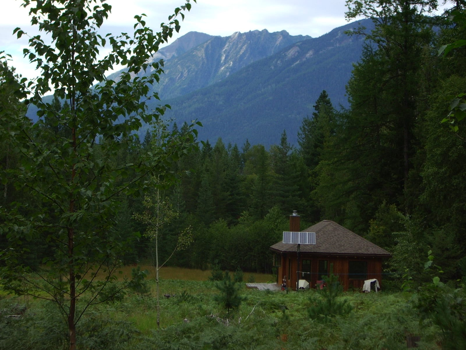 Very Remote Boat Access Acreage with Beautiful Timber Frame Cabin with Solar Power
