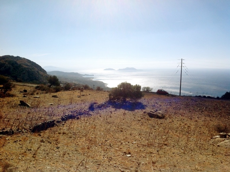 Southern Crete – Land with planning permission with amazing sea views