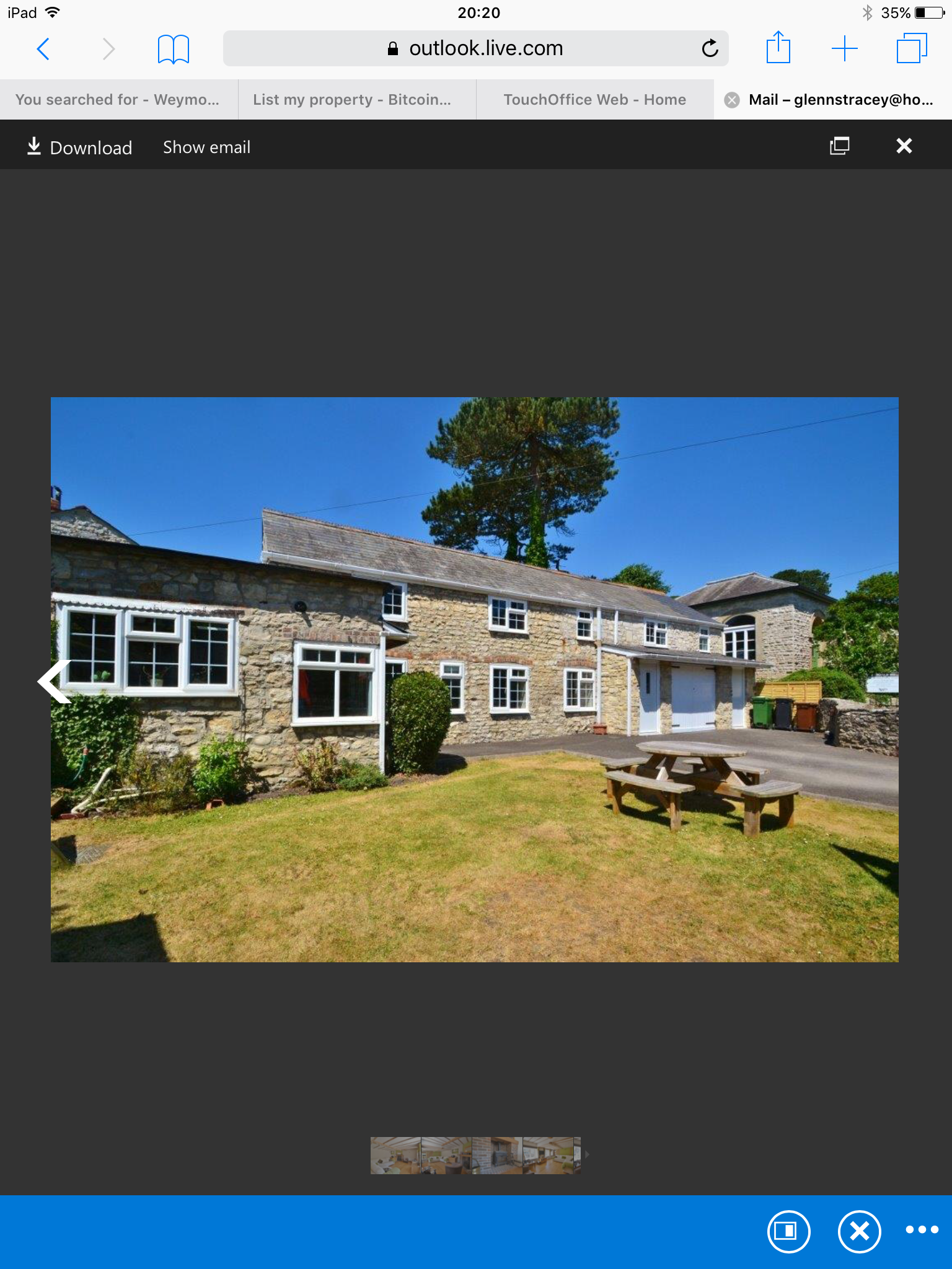 Period 3 bedroom 17th C cottage for sale. Investment