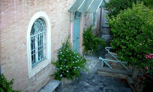 Italy Villa window view on BitCoin-RealEstate
