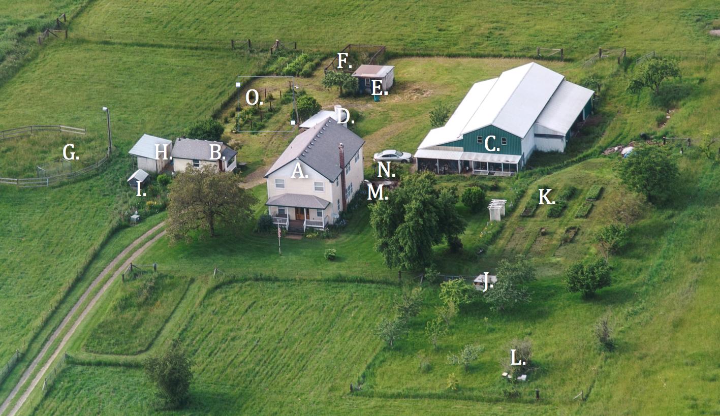 10 acre Homestead Washington