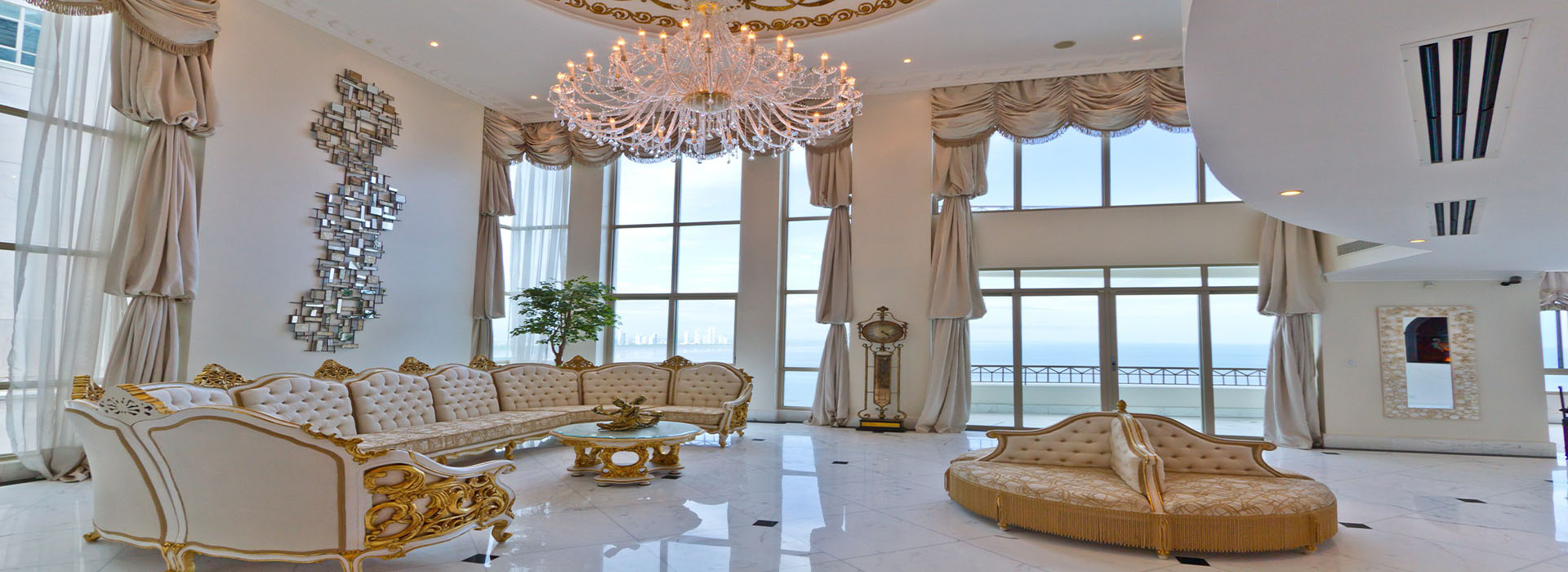 Spectacular Penthouse top 2 floors for SALE or RENT.
