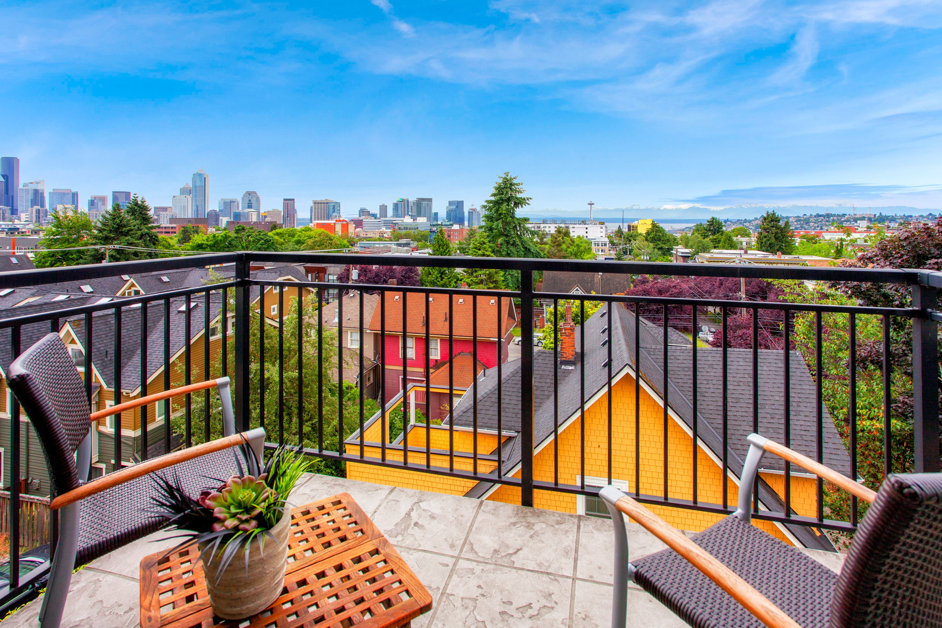 Offer Review Date is Friday, June 30th! Seattle Perfect Location and Space Needle Views in #1 US Real Estate Market