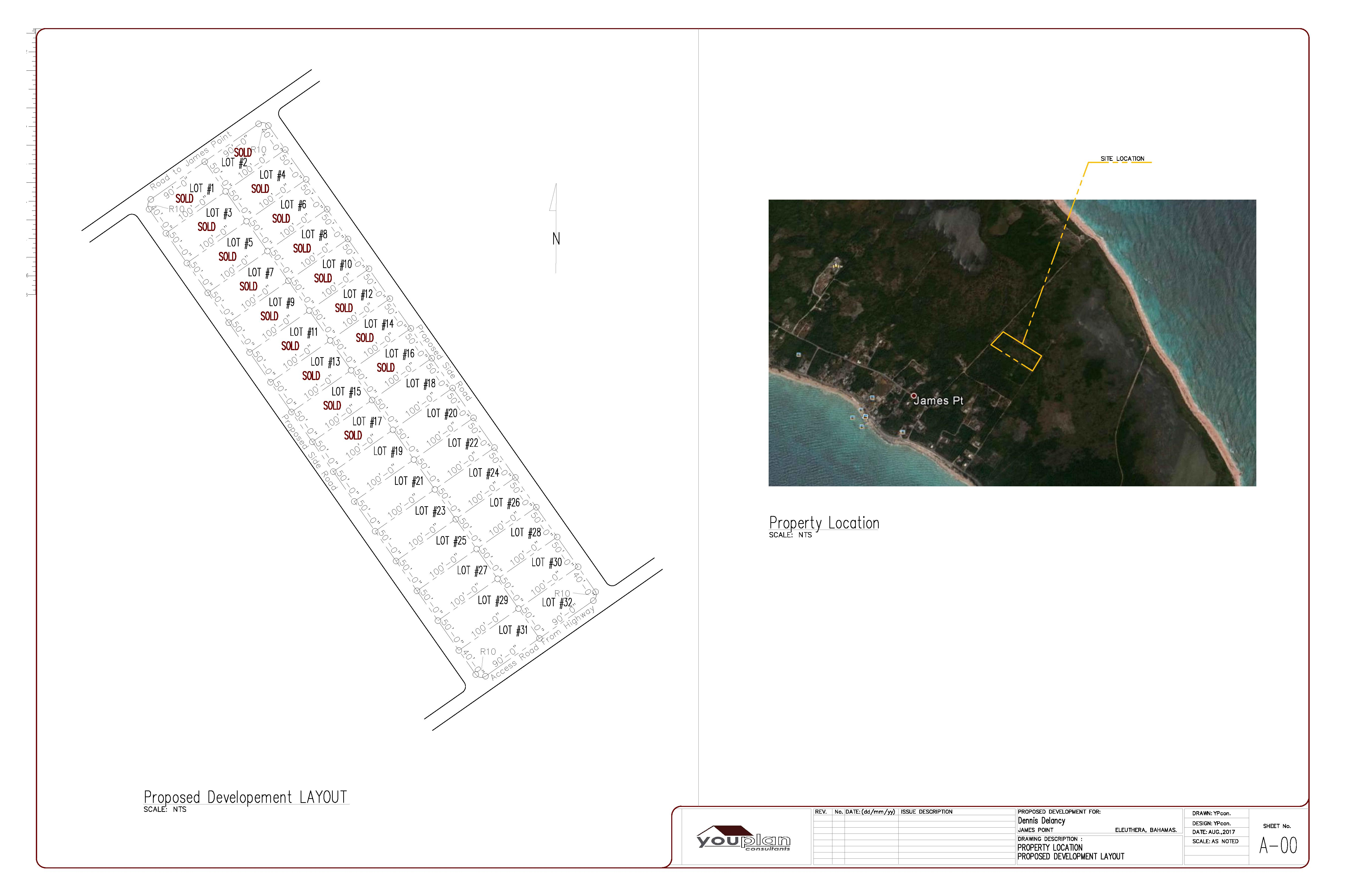 Eleuthera, Bahamas Lots for Sale