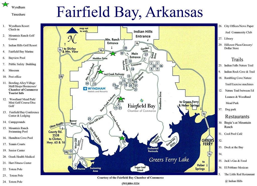 Fairfield Bay, Van Buren County, Arkansas Land for Sale by Quitclaim Deed