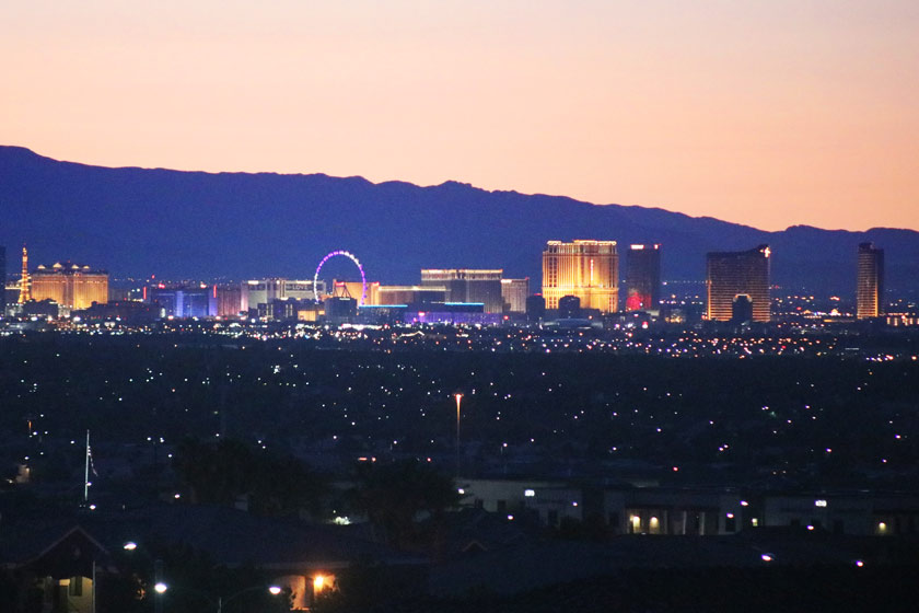 Spectacular parcel with Las Vegas Strip, City and Mountains views.