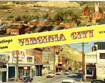 Viginia City Nevada on Bitcoin Real Estate
