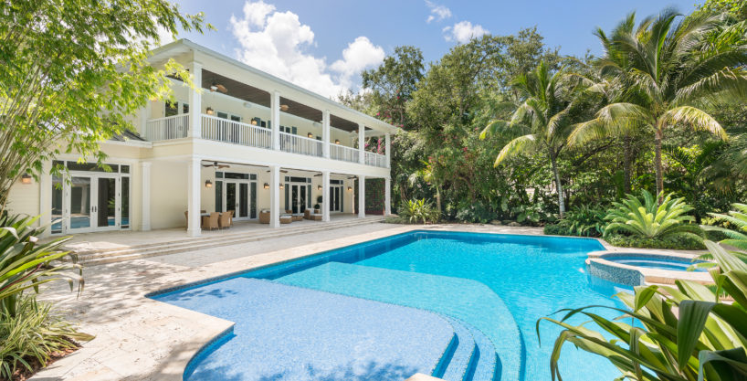 Magnificent Villa on an Acre of land in the Heart of Miami/Ponce Davis Area