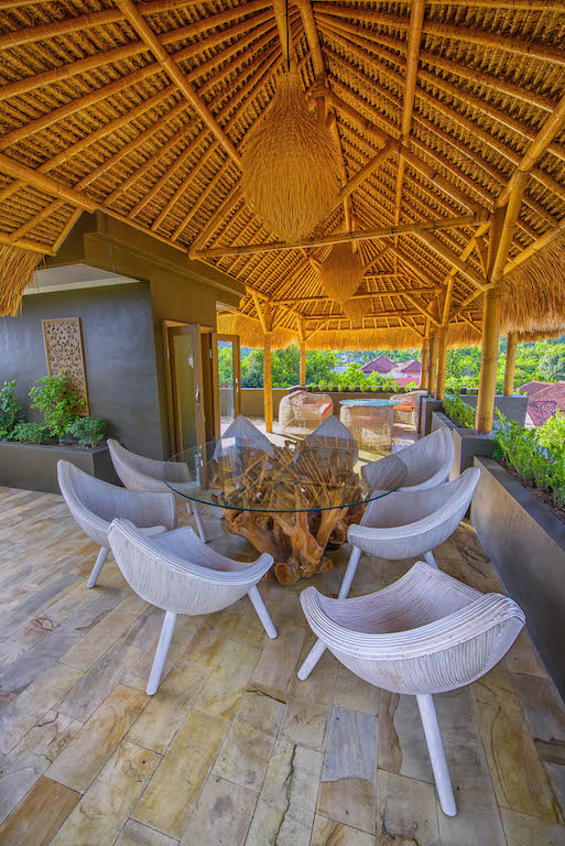 Luxurious villa in Lombok