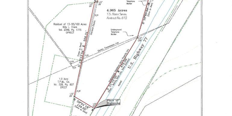 4.965 acre survey