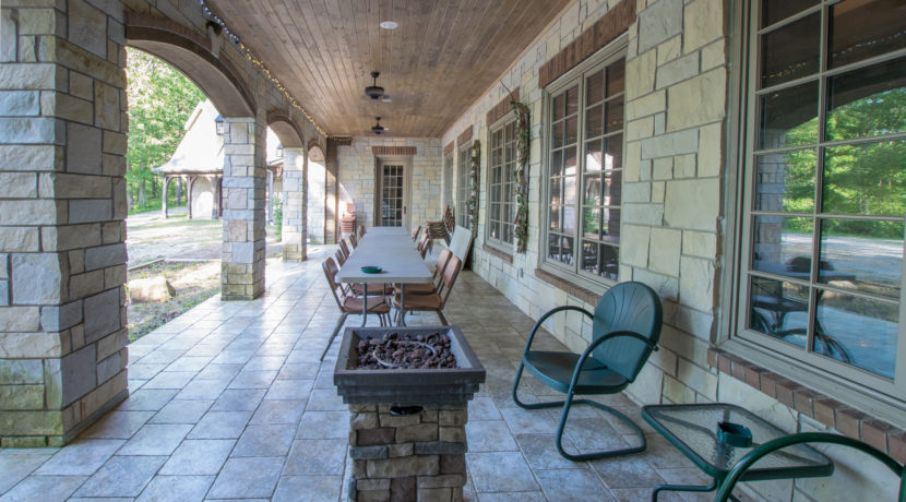 Ground Floor Covered Porch