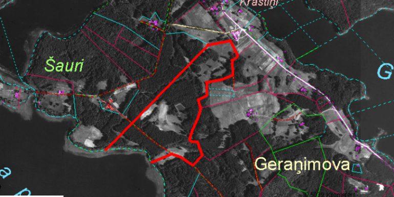 Birzkalna ezers kadastra karte_9