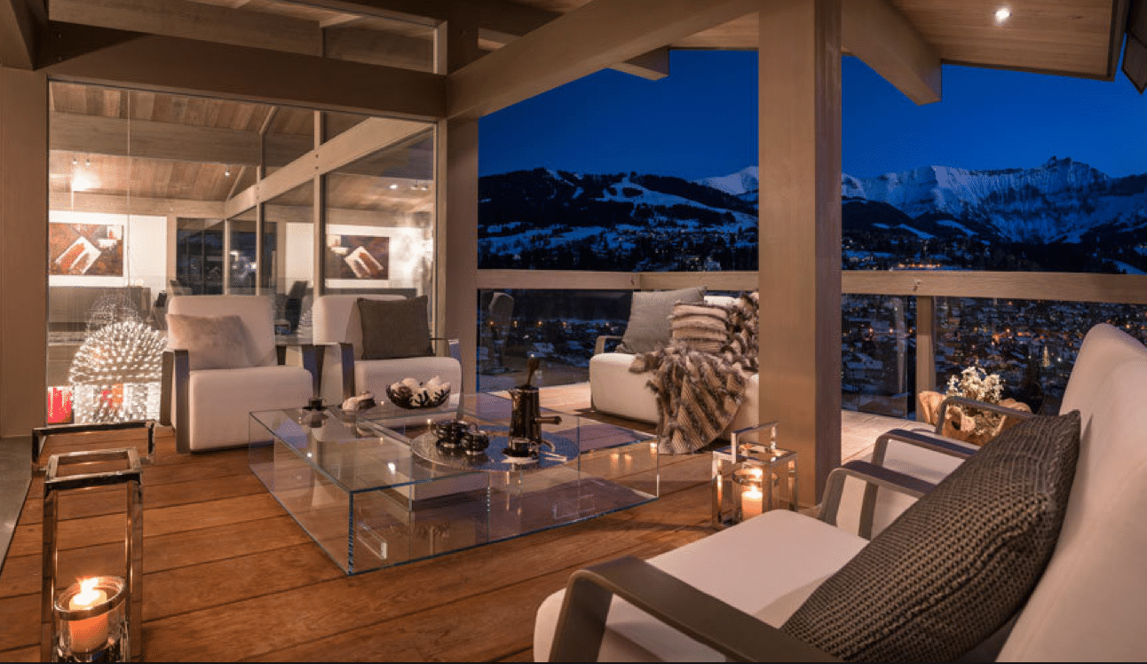 Luxury Brand New Chalet Megeve (French Alps), minutes from the town center