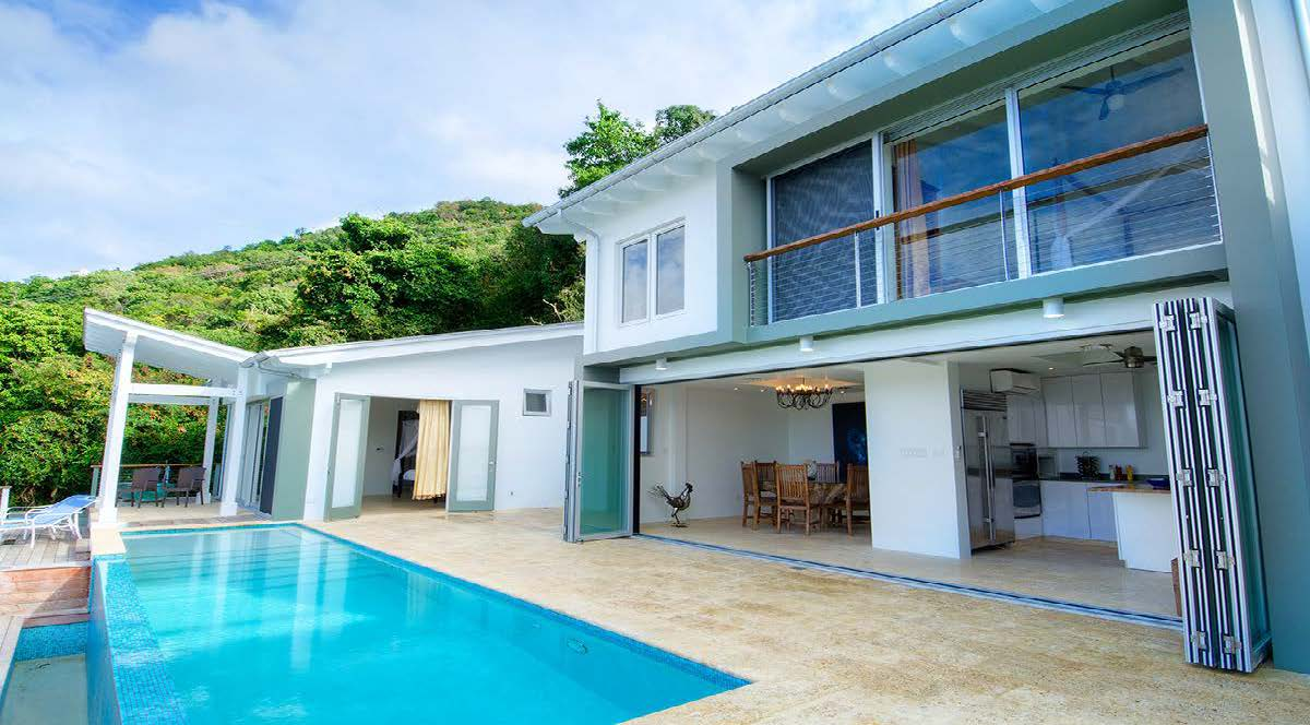 Villa Maya – Luxury Beach House in Tortola British Virgin Islands