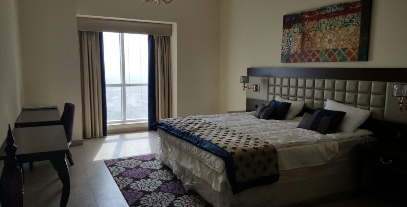 Dubai – 1 bed room in Marina 101 – Second tallest building in UAE