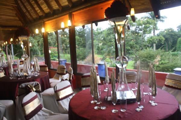 Resturant, during wedding