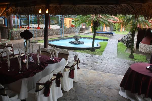 Resturaunt dinning area, during wedding