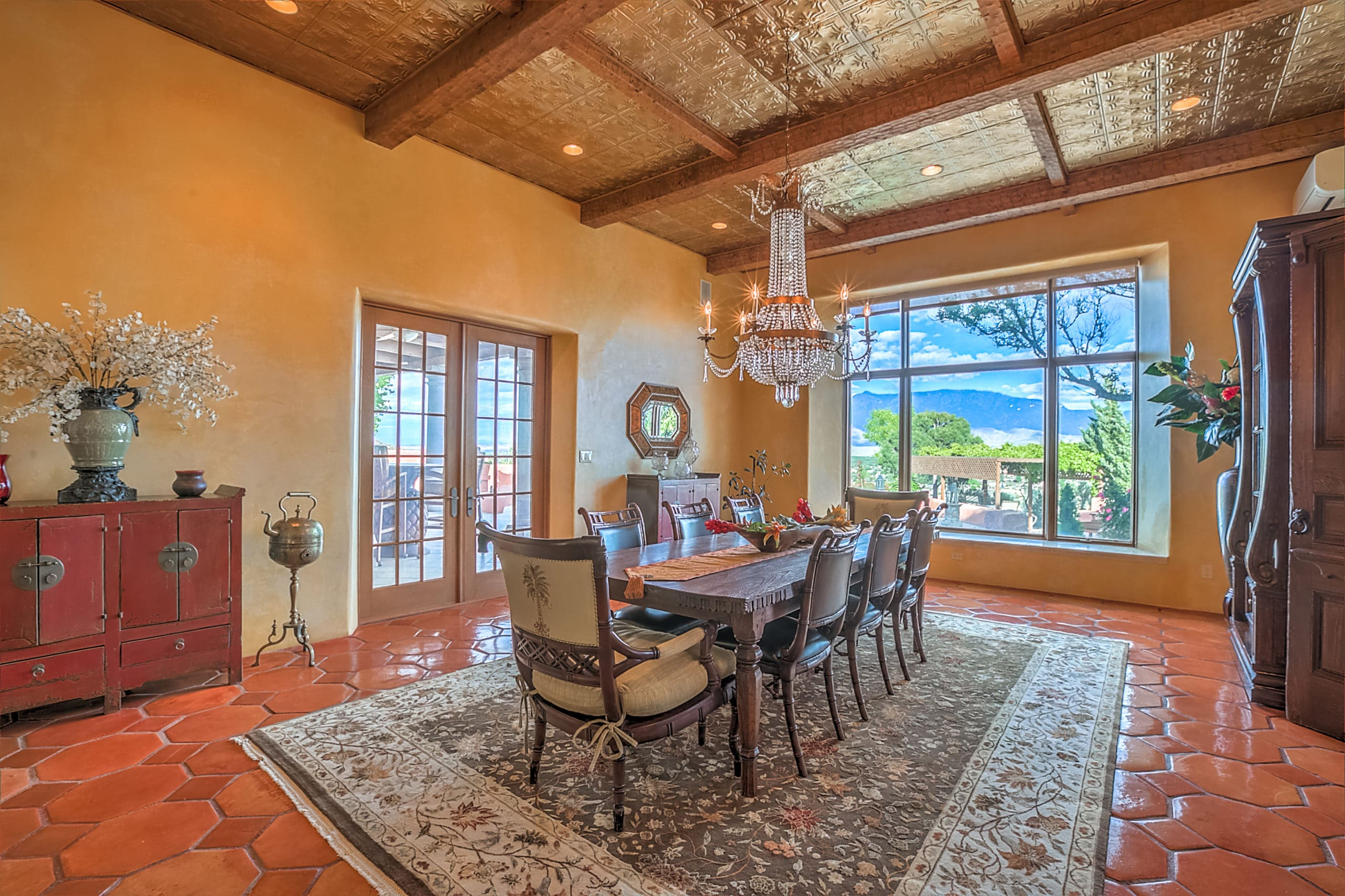Gorgeous Estate with Fabulous Views of Rio Grande Valley in New Mexico