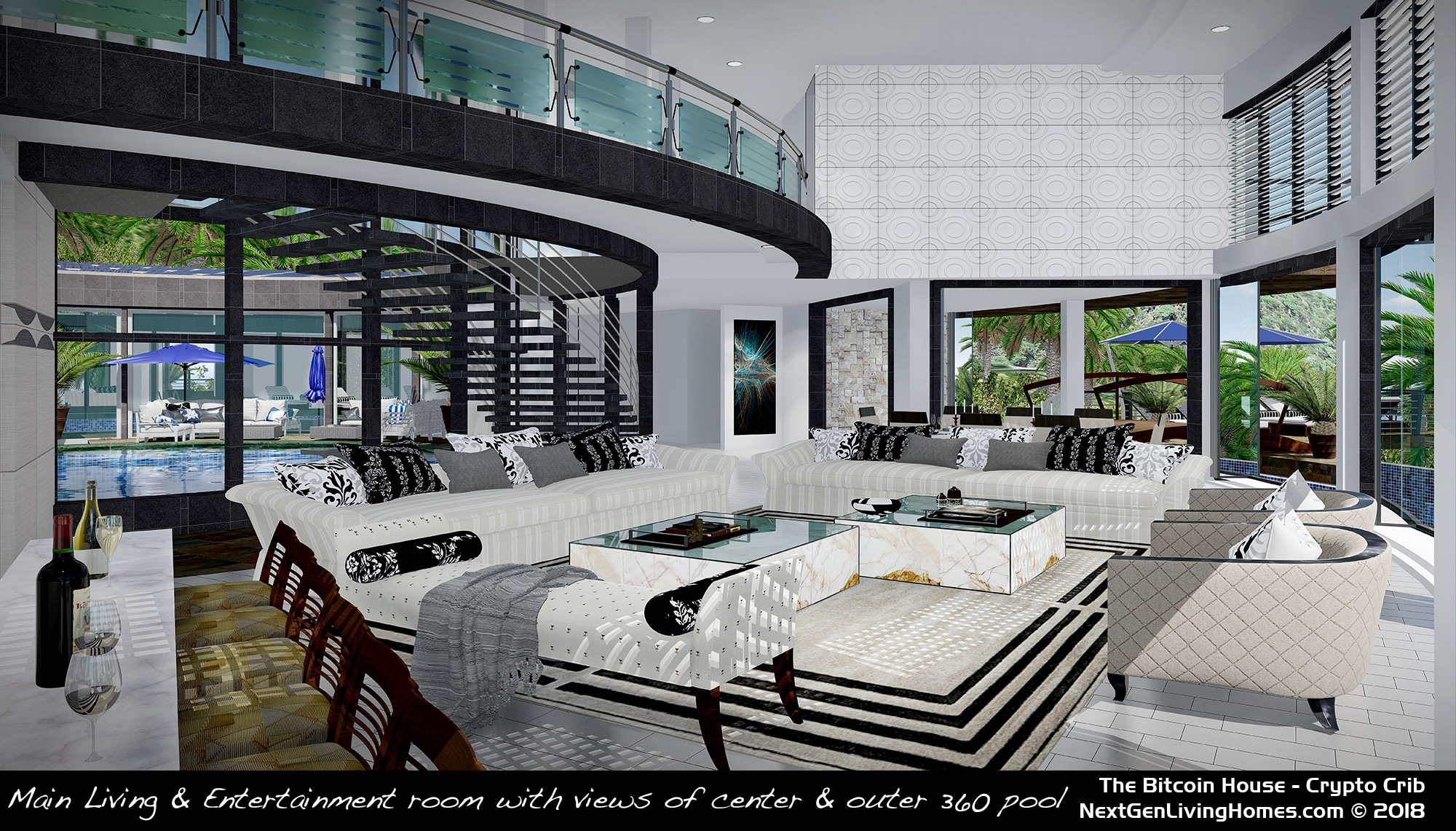 Buy The Architectural Designs Amp Home The Bitcoin House