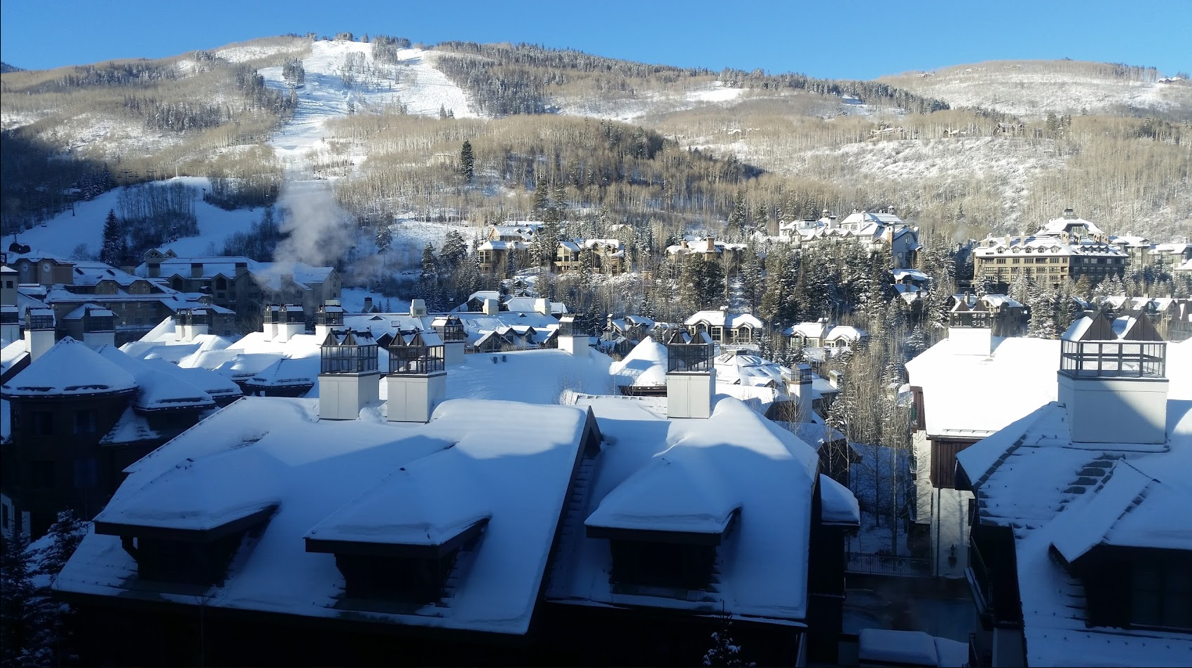 St James Place, Beaver Creek, Avon Colorado Luxury Winter Skiing Best Balcony Views Week 49 and 50