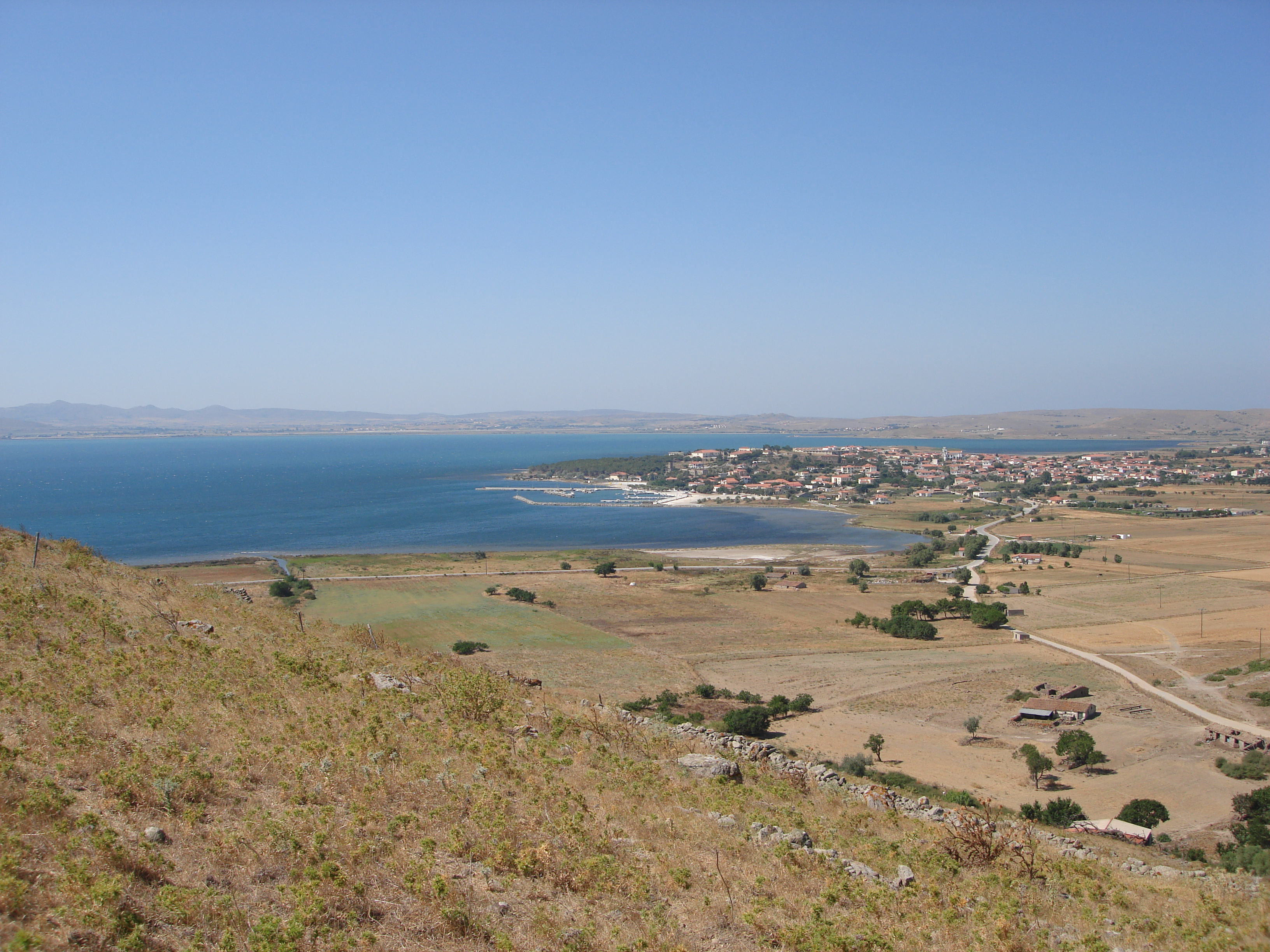 Greece – Island Lemnos – Property on the island of Lemnos near the sea with amazing view