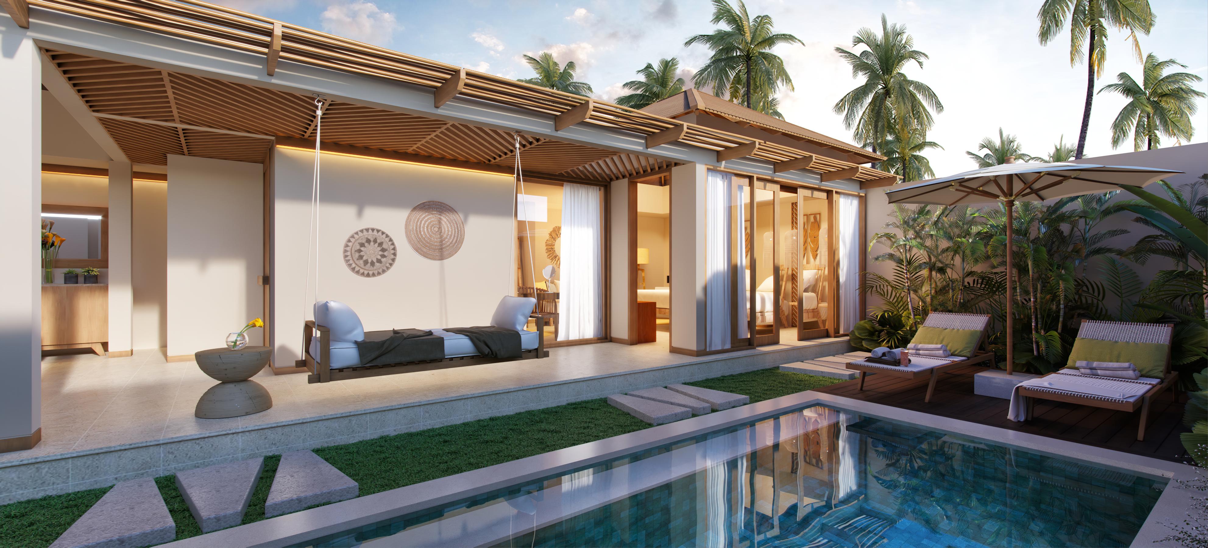 1br Villa in Cocana Sunset Lagoon