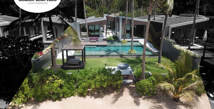 Villa Sea at Mandalay Beach Villas in Koh Samui, Thailand