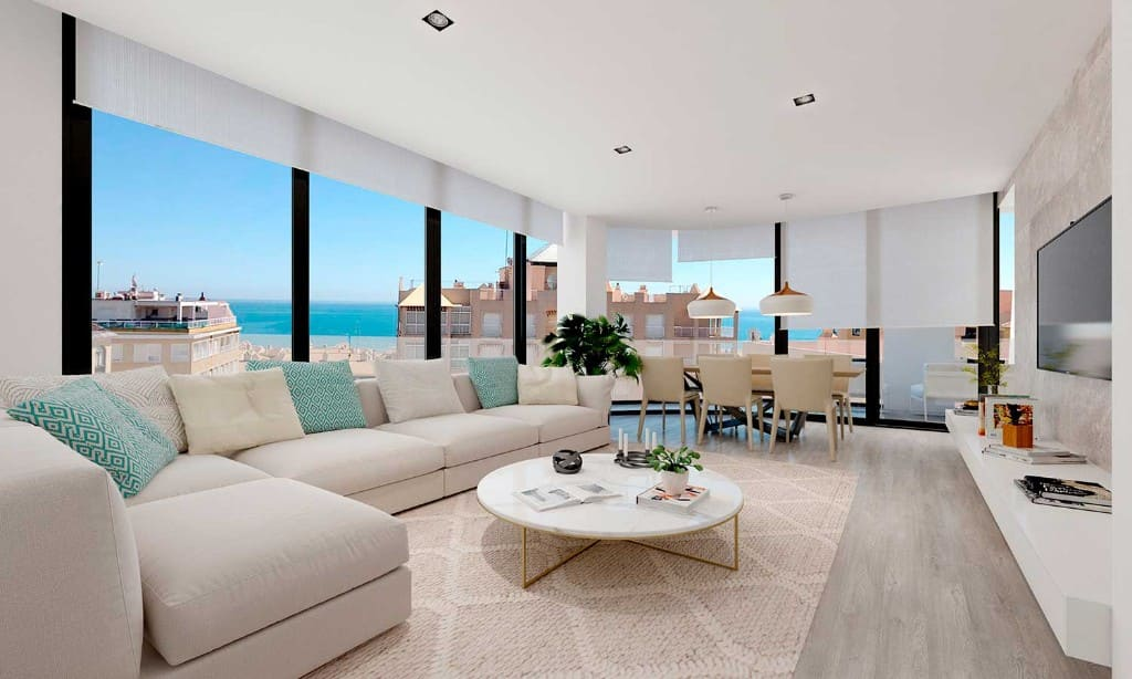 Seaview Apartment in Guardamar del Segura, Alicante Region, Southern Spain