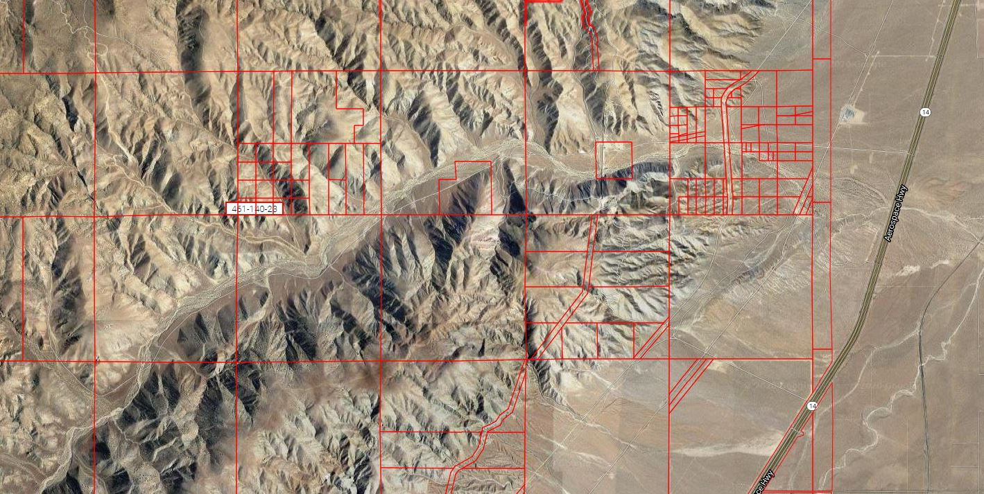 USA – 10 Acres of Vacant Land in Mojave, Kern County, California!